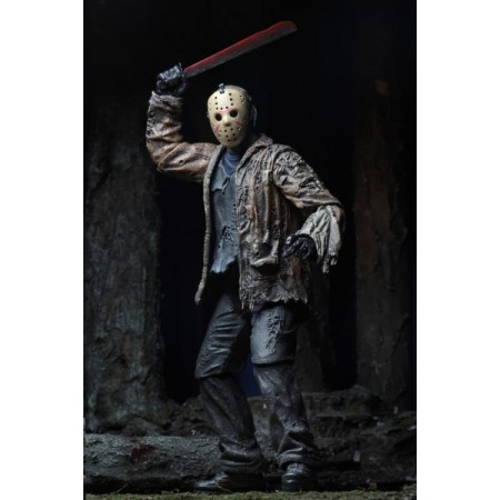 Freddy Vs Jason Ultimate Jason Voorhees 7 Inch Action Figure