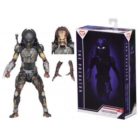 NECA The Predator Ultimate Fugitive Predator 6 Inch Action Figure