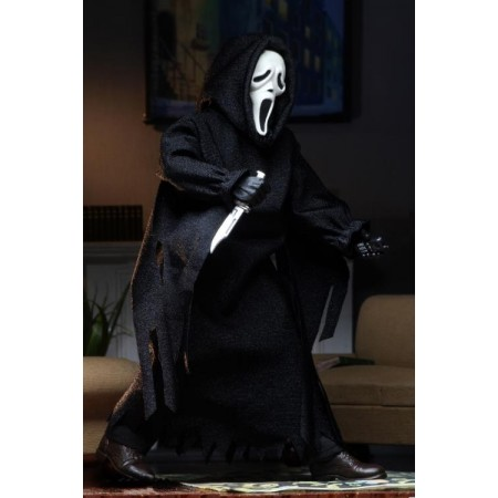 NECA Scream Ghostface Retro Clothed Action Figure