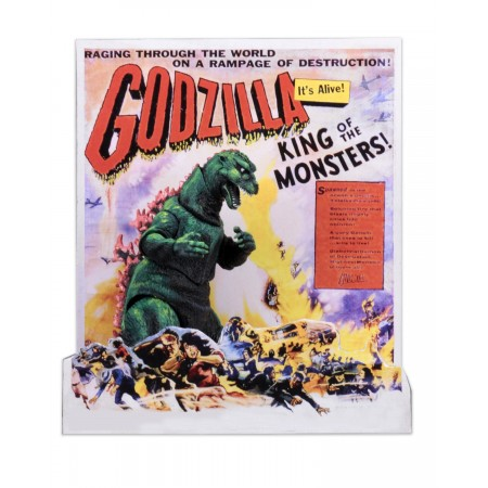 Godzilla 12 Inch Head To Tail 1956 Poster Version Action Figure