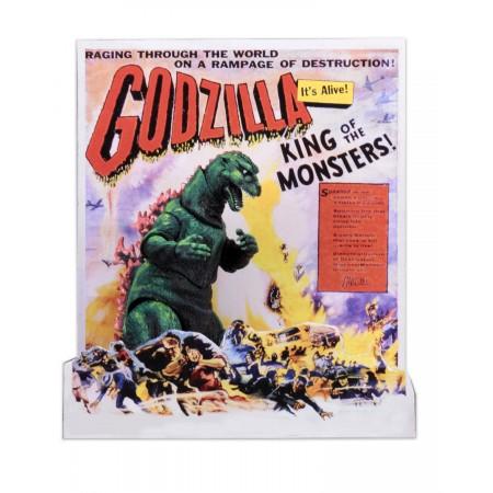 Godzilla de 12 pulgadas cabeza a cola 1956 cartel versión figura de acción
