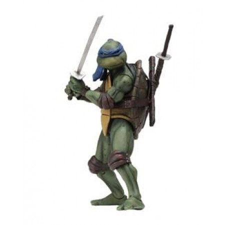 NECA TMNT Movie Star Leonardo 7 Inch Action Figure