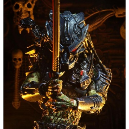 NECA Predator 2 Ultimate Armored Lost Predator Action Figure