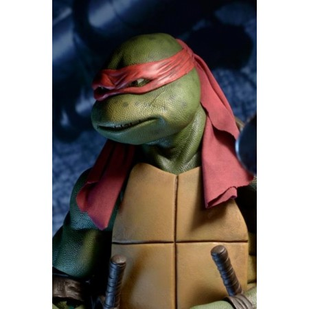 NECA TMNT Teenage Mutant Ninja Turtles 1/4 Scale Raphael Figure