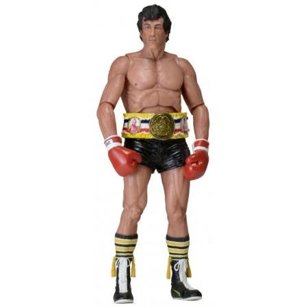 NECA Rocky 40th Anniversary Black Trunks & Belt
