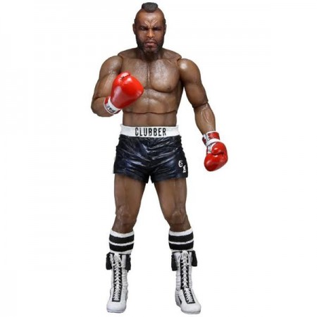 NECA Rocky 40th Anniversary Clubber Lang Black Trunks