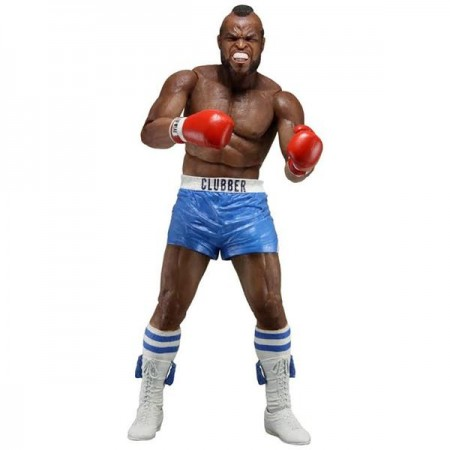 NECA Rocky 40th Anniversary Clubber Lang Blue Trunks