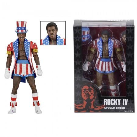 NECA Rocky 40th Anniversary Series 2 Apollo Uncle Sam Ring Attire