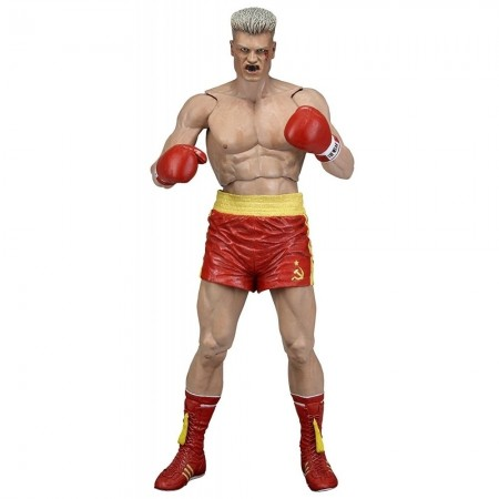 NECA Rocky 40th Anniversary Series 2 Ivan Drago Bloodied