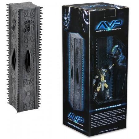 NECA Alien Vs Predator Temple Pillar Diorama 35cm Pyramid Display