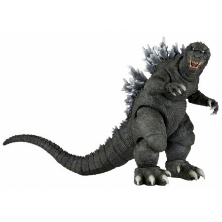 "NECA  Godzilla 6"" (12"" Head to Tail) 2001 Monsters Attack Action Figure"