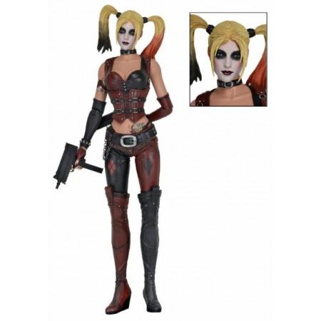 NECA Batman Arkham City 1/4 Scale Harley Quinn Figure