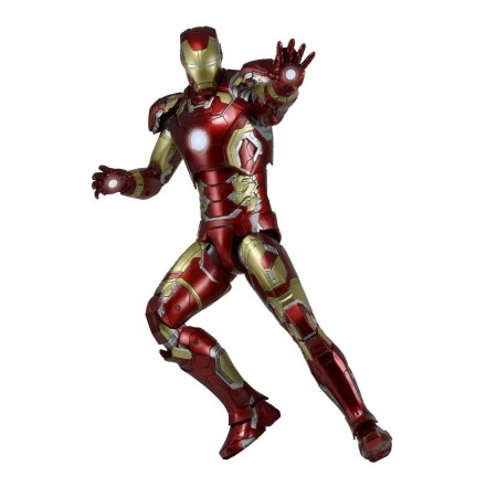 """NECA AVENGERS AGE OF ULTRON IRON MAN MARK 43 1/4 SCALE 18"""" inch ACTION FIGURE"""
