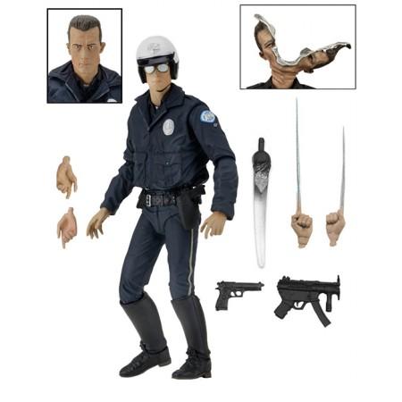 NECA Terminator 2 Ultimate T-1000 Motorcycle Cop