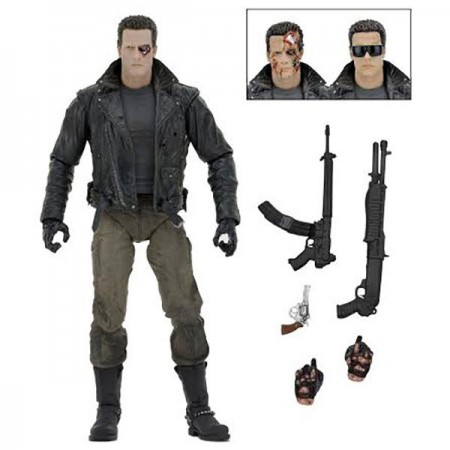 NECA Terminator Ultimate T-800 Police Station Assault