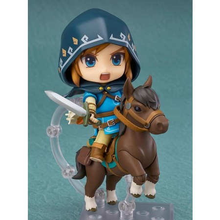 Nendoroid Legend Of Zelda Deluxe Breath Of The Wild Link Action Figure