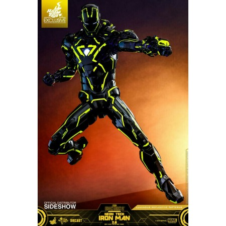 Hot Toys Neon Tech Iron Man Exclusive 1/6 Scale Figure
