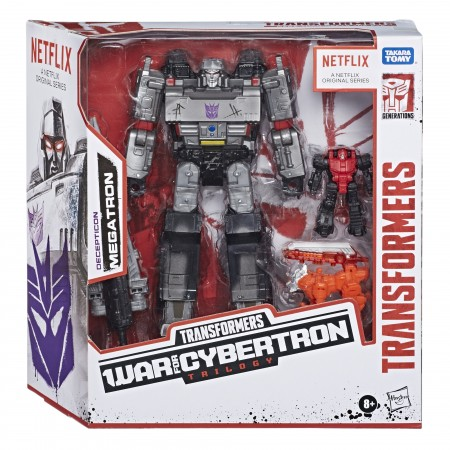 Transformers War For Cybertron Battlefield Megatron 3 Pack Netflix Exclusive