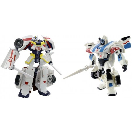 Transformers Adventures TAV-VS05 Drift Origin & Jazz Battle Mode