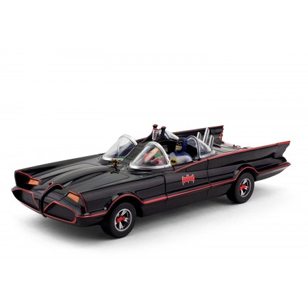 "NJ Croce 10"" Classic TV Series Batmobile with Bendable Figures"
