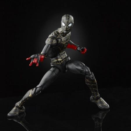 Marvel Legends Spider-Man No Way Home Black and Gold Suit Action Figure