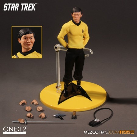 Mezco One:12 Collective Star Trek Hikaru Sulu