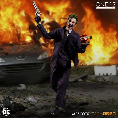 Mezco One:12 Collective The Joker Figure