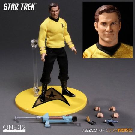 Mezco One:12 Collective Star Trek Captain Kirk Figure