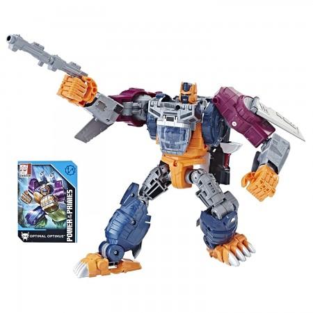 Transformadores de potencia de los Primes líder Optimus Primal