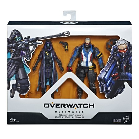 Overwatch Ultimates Ana & Soldier 76 2 Pack