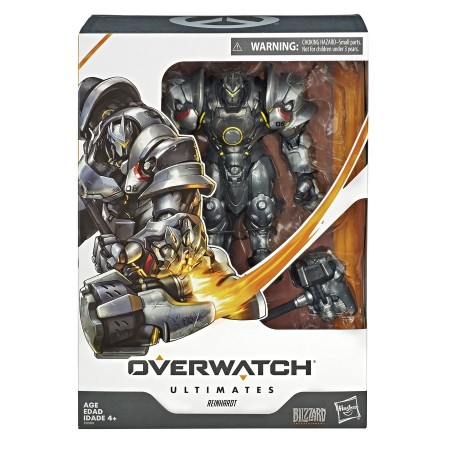 Overwatch Ultimates Reinhardt Deluxe 6'' Action Figure