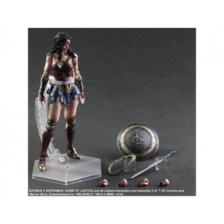 Batman Vs Superman Wonder Woman Play Arts Kai Figure
