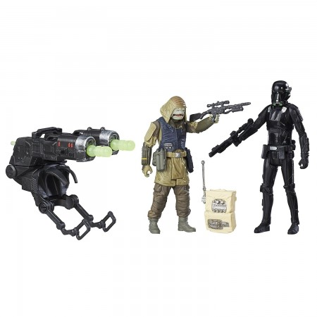 Star Wars Rogue One Death Trooper and Rebel Commando Pao Deluxe Figure 2 Pack
