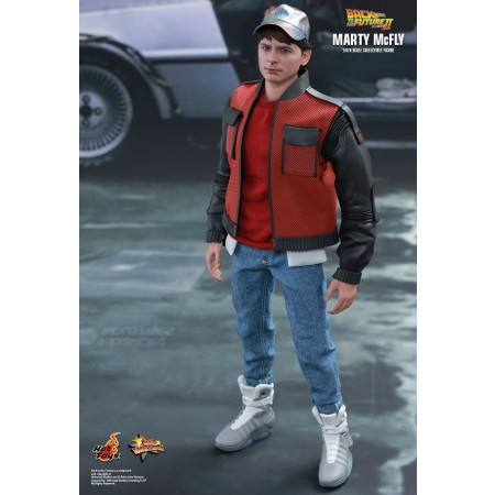 Hot Toys Back To The Future Part II Marty Mcfly 1/6th Scale Collectible Figure