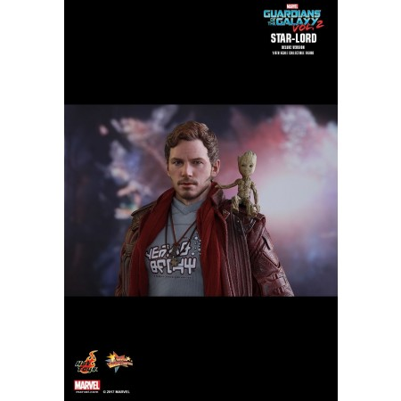 Hot Toys Guardians Of The Galaxy Vol. 2 Star-lord (Deluxe Version) 1/6th Scale Collectible Figure