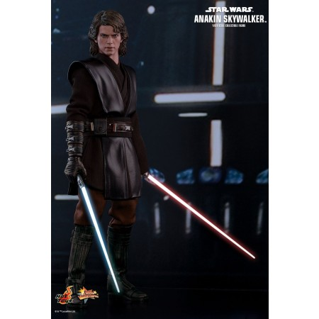 Hot Toys Star War Episode Iii: Revenge Of The Sith Anakin Skywalker 1/6th Scale Collectible Figure