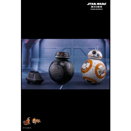 Hot Toys Star Wars: The Last Jedi BB-8 & BB-9E 1/6th Scale Collectible Set MMS442
