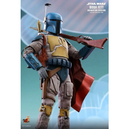 Hot Toys Star Wars Boba Fett (Animation Version) 1/6th Scale Collectible Figure TMS006