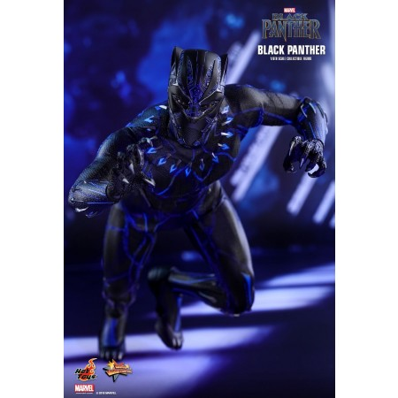 HOT TOYS BLACK PANTHER 1/6TH SCALE COLLECTIBLE FIGURE MMS470