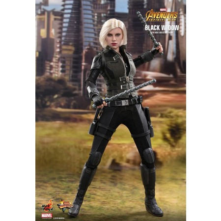 HOT TOYS AVENGERS: INFINITY WAR BLACK WIDOW 1/6TH SCALE COLLECTIBLE FIGURE