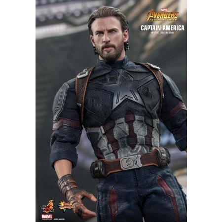 Hot Toys Avengers infinito guerra Capitán América escala 1/6 figura