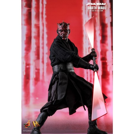 Hot Toys star Wars Episode I: The Phantom Menace Darth Maul 1/6th Scale Collectible Figure