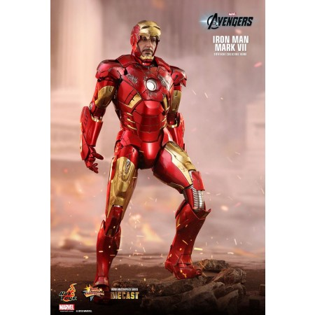 Hot Toys Iron Man Mark Vii Die-cast 1/6th Scale Collectible Figure