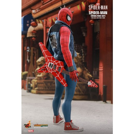 Hot Toys Marvel's Spider-man Spider-punk Suit 1/6th Scale Collectible Figure