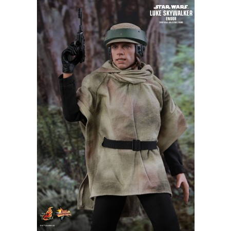 Hot Toys Star Wars: Retorno de la Jedi Luke Skywalker (Endor) figura de colección escala 1/6