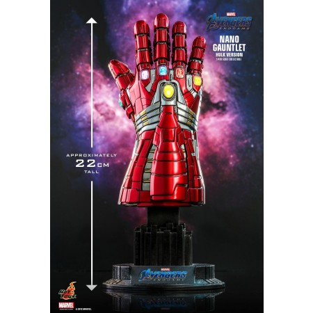 Hot Toys Avengers: Endgame Nano Gauntlet (Hulk Version) 1/4th Scale Collectible