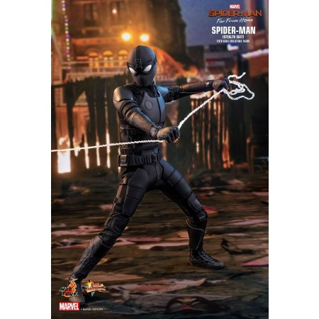 Hot Toys Spider-man: Far From Home Spider-man (Stealth Suit) 1/6th Scale Collectible Figure