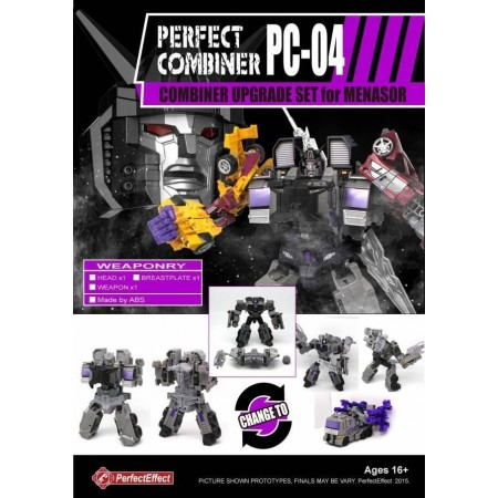 Perfect Effect PC-04 Perfect Combiner Upgrade Set - Menasor Set