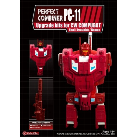 PERFECT EFFECT PC-11 PERFECT COMBINER UPGRADE SET COMPUTRON CHEST & WEAPON