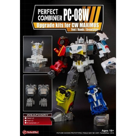 PERFECT EFFECT PC-08W PERFECT COMBINER OPTIMUS MAXIMUS UPGRADE KIT